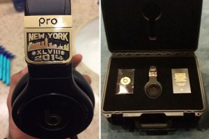 Beats By Dre x Graff Diamonds 'Super Bowl LVIII' Headphones