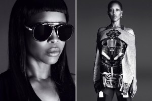 Erykah Badu For Givenchy Spring/Summer 2014