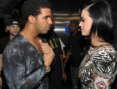Drake and Katy Perry