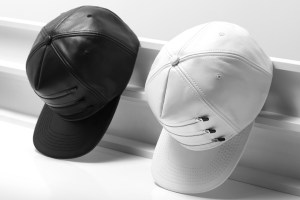 Stampd 3-Zipper Leather Hats