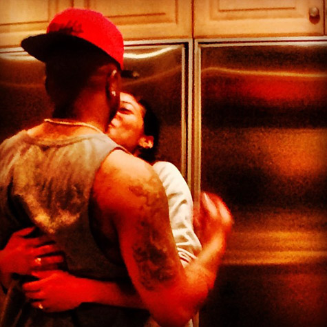 The-Dream and his wife