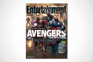 Avengers Ultron on cover of Entertainment Weekly