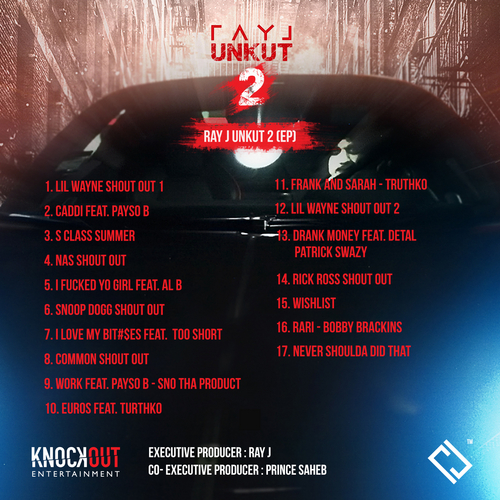 Ray J - Unkut 2 (Mixtape) - Back