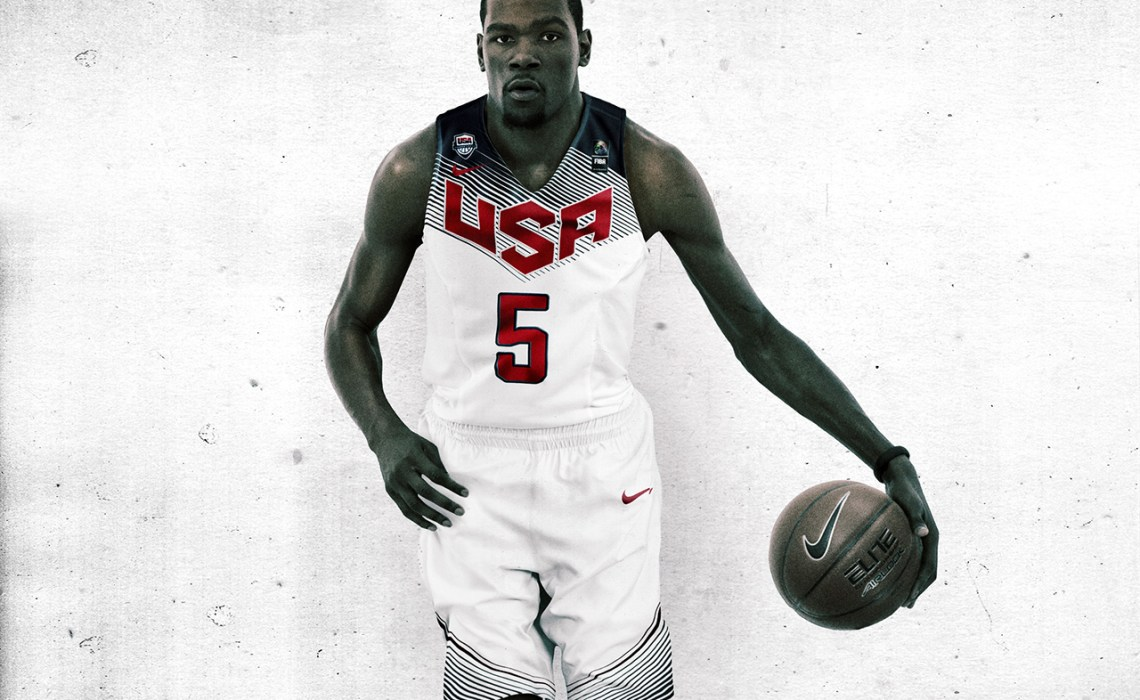 Nike Basketball 2014 Team USA Uniform