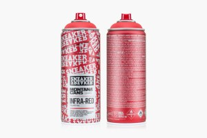 Montana Cans x Sneaker Freaker 'Infra-Red'