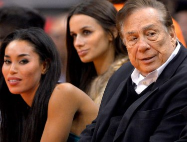 V. Stiviano and Donald Sterling