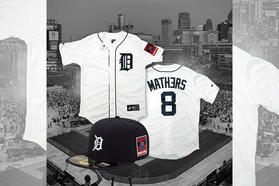 Eminem x Detroit Tigers x Monster Tour Capsule Collection