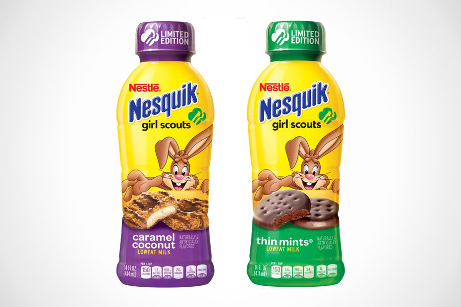 Nesquick Girl Scout Cookie Flavors