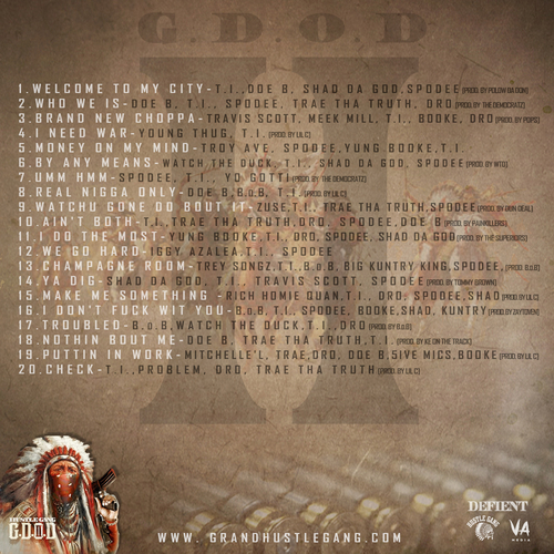 Hustle Gang - G.D.O.D. 2 (Mixtape) - Back