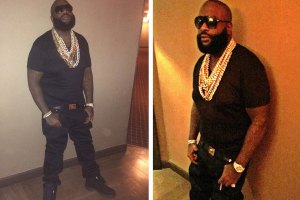 Rick Ross loses some major weight.