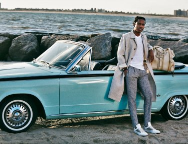 A$AP Rocky For Salvatore Ferragamo A Man's Story