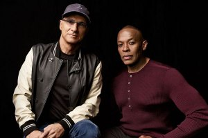 Jimmy Iovine and Dr. Dre