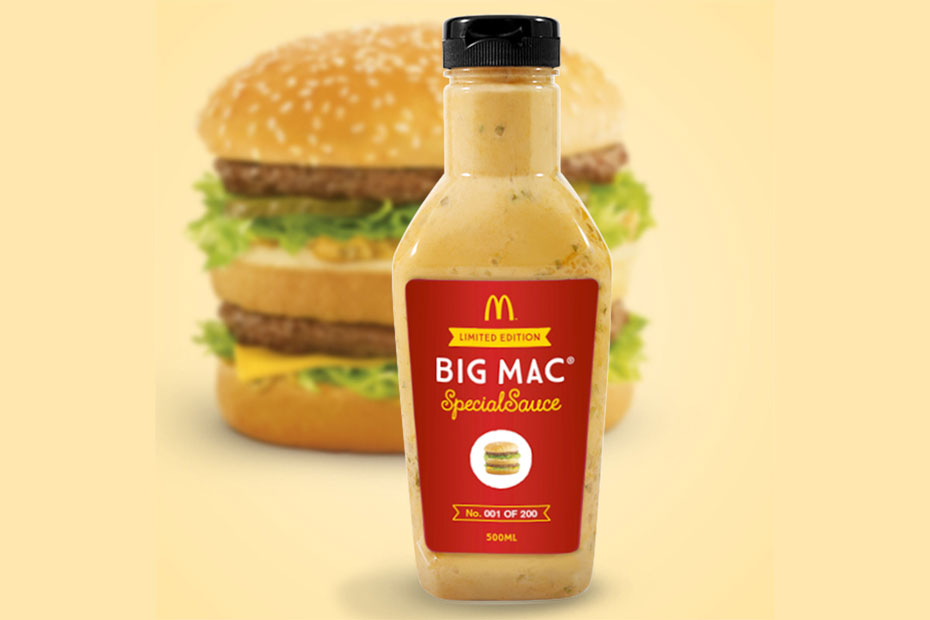 McDonald's Limited Edition Big Mac Special Sauce Bottle