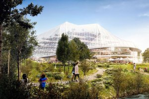 Google Planning New Headquarters With Flexible Biodome