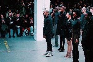 Kanye West debuts Yeezy Season 1 for Adidas