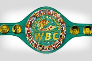 Special $1 Million WBC Mayweather-Pacquiao Belt