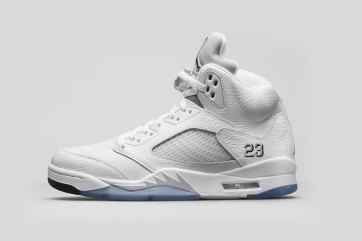 Air Jordan 5 Retro - Metallic Silver