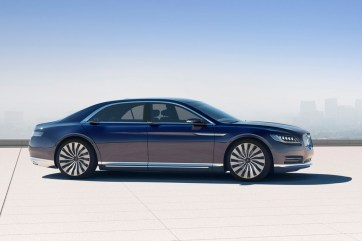 Lincoln Unveils 2016 Continental Concept