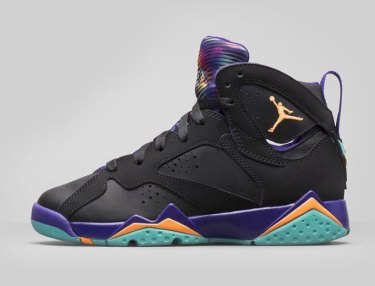 Air Jordan 7 Retro Girls 'Court Purple'