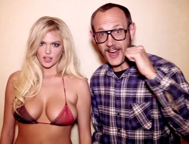 Kate Upton and Terry Richardson