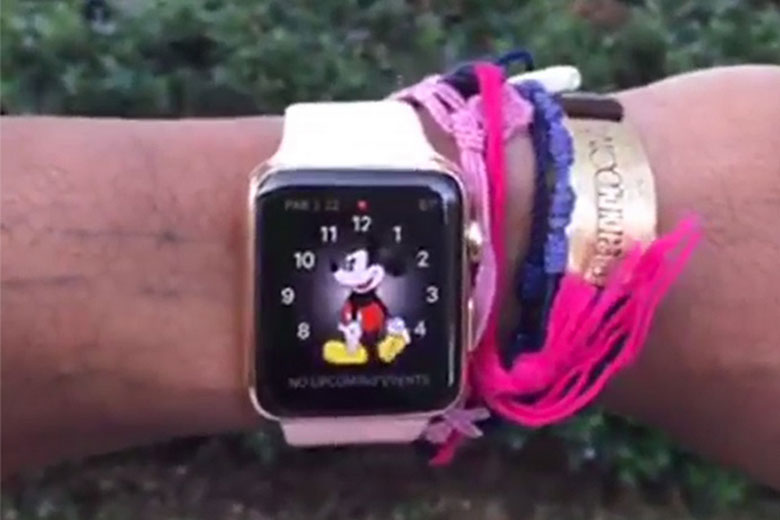 Pharrell rocks Apple Watch