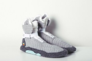Fuggit Offers Knit Versions Of Nike Air MAG, Yeezy 2