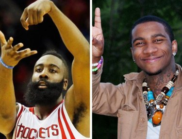 James Harden and Lil B