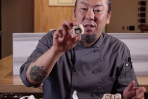 Pro-Sushi Chef Yoya Takahashi Reviews Cheap Sushi
