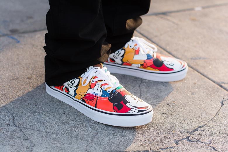 Disney x Vans Young at Heart Collection Arte y Sport
