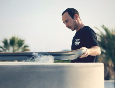 Pro Skater Ross McGouran Tests Lexus Hoverboard