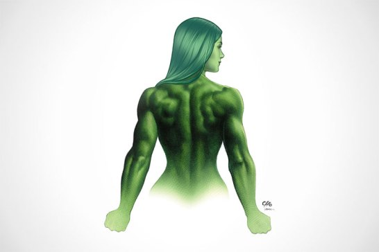 ESPN's The Body Issue: Marvel Super Heroes Edition