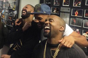 Drake, Will Smith and Kanye West