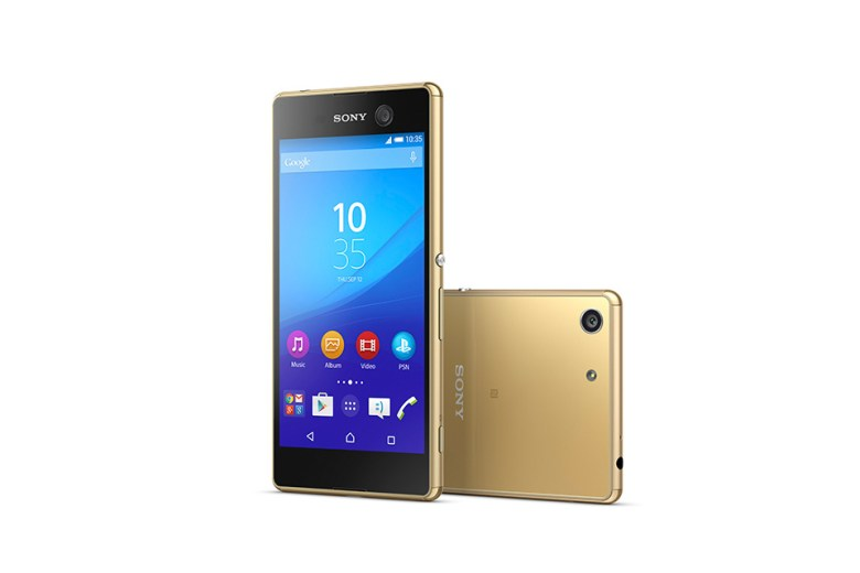 Sony Unveils The Xperia M5 Smartphone