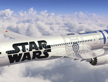 All Nippon Airways x Star Wars-Branded Passenger Jets