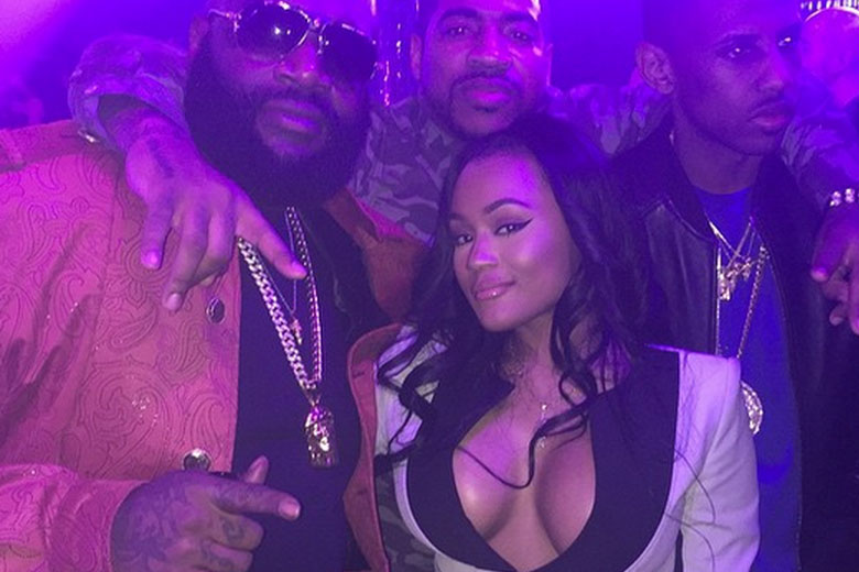 Rick Ross and Lira Mercer