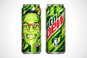 MTN Dew x Russell Westbrook Limited Edition Cans