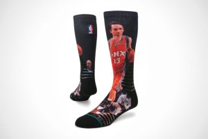 Steve Nash socks for Phoenix Suns