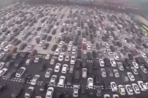 Think Your City Has Bad Traffic? Check Out This China Traffic Jam