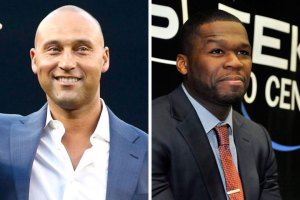 Derek Jeter and 50 Cent