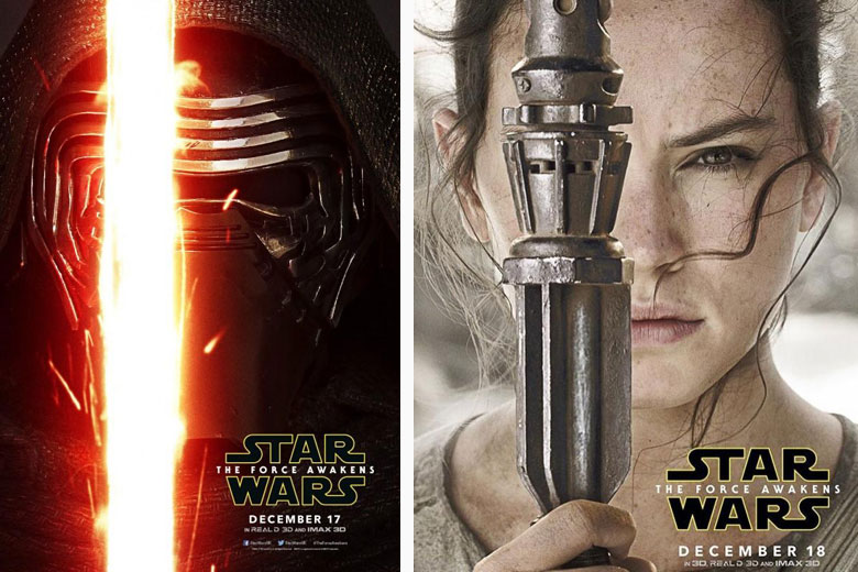 Star Wars: The Force Awakens - Movie Posters