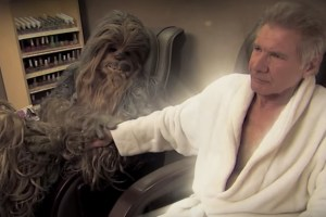 Harrison Ford Settles Feud With Chewbacca