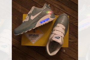 Just Blaze Gets Nike MAG-Inspired Air Max 90s For X-Mas