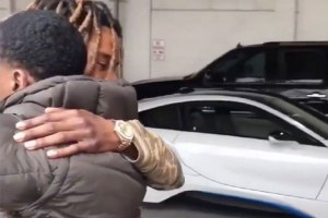 Fetty Wap Gives Monty A BMW i8 For Christmas