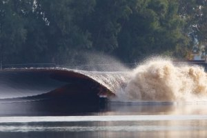 Surfer Kelly Slater Creates The Perfect Wave