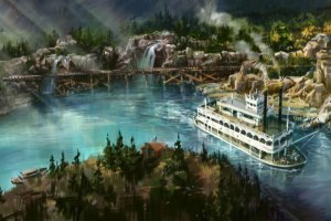 Disneyland Offers First Look At Riverfront, Post-Star Wars Land
