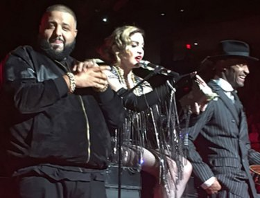 DJ Khaled and Madonna