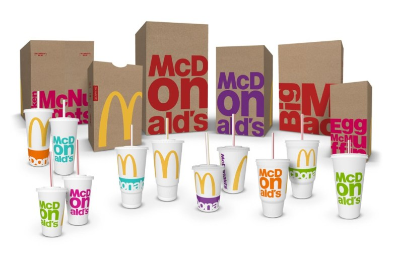 McDonald's Revamped Packaging