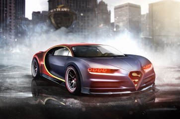 The Themed Cars Superheroes Would Drive