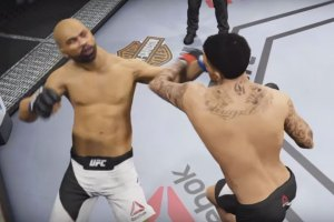 UFC Simulation of Matt Barnes vs. Derek Fisher Fight
