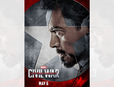 #TeamIronMan Posters Revealed For 'Captain America: Civil War'